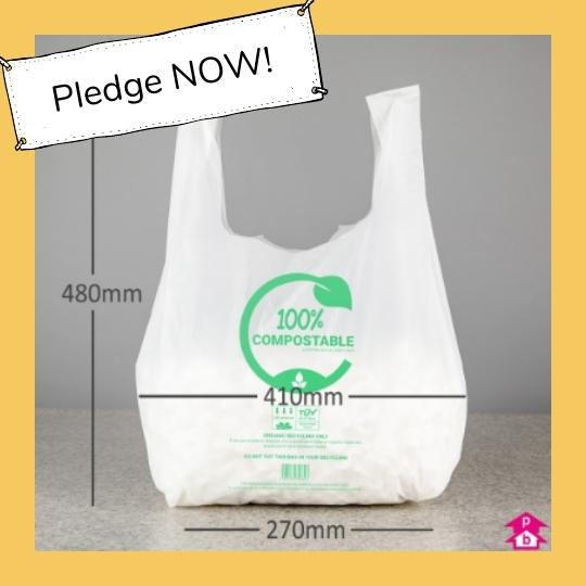 Picture of compostable bag
